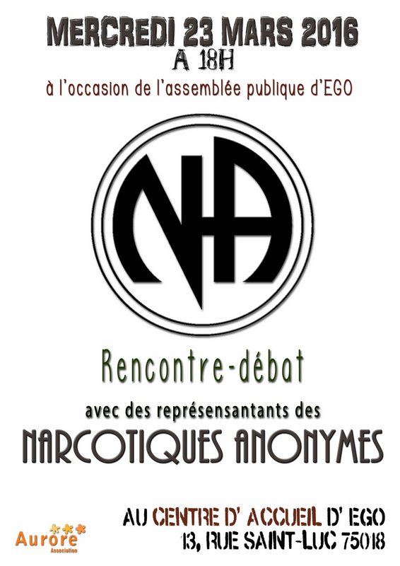 rencontre narcotique anonyme